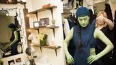 Nicole Parker Backstage at Wicked – dressing