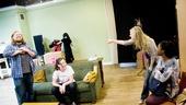 In The Wake Rehearsal – Michael Chernus – Jenny Bacon – Marin Ireland – Miriam F. Glover