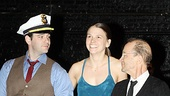 Anything Goes Press rehearsal – Colin Donnell – Sutton Foster – Joel Grey