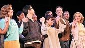 Merrily We Roll Along- Elizabeth Stanley, Betsy Wolfe, Lin-Manuel Miranda, Celia Keenan-Bolger and Colin Donnell