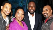 Memphis stars Derrick Baskin, J. Bernard Calloway and James Monroe Iglehart could not be happier to meet living legend Oprah Winfrey.