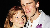 Former roomies Celia Keenan-Bolger and Gavin Creel get cheeky for this cute snapshot.