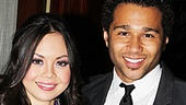 "Anna Maria Perez de Tagle cozies up to her handsome ""Day By Day"" duet partner, Corbin Bleu."
