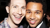 Corbin Bleu can't help but sing the praises of musical director Charlie Alterman.