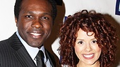 It's an In the Heights reunion for Porgy and Bess' Joshua Henry and Janet Dacal on the red carpet.