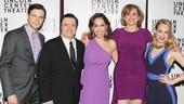 Nance Opening- Jonny Orsini – Nathan Lane -Andrea Burns- Cady Huffman- Jenni Barber