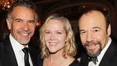 Brian Stokes Mitchell catches up with Broadway couple Rebecca Luker (currently starring in Cinderella) and Danny Burstein (gearing up to star in The Snow Geese).