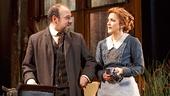 Danny Burstein as Max Hohmann & Victoria Clark as Clarissa Hohmann in The Snow Geese