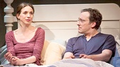 Marin Hinkle as Karen & Jeremy Shamos as Gabe in Dinner with Friends