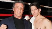 Rocky - Stallone - Frist Preview - OP - Sylvester Stallone - Andy Karl