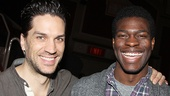 Les Miserables - Media Day - OP - Will Swenson - Kyle Scatliffe