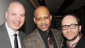 The Happiest Song Plays Last - OP - Opening Night - Michael Carnahan - Ruben Santiago-Hudson - Leon Rothenberg - 3/14