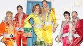 Mamma Mia - 5,000th Performance - OP - 3/14 - Felicia Finley - Paul DeBoy - Corinne Melancon - Alan Campbell - Lauren Cohn - John Hemphill