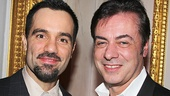 Ramin Karimloo takes a photo with Broadway Across America CEO John Gore.