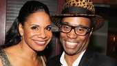 Audra McDonald and Billy Porter.