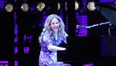 Beautiful star Jessie Mueller (Carole King).