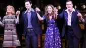 Beautiful stars Anika Larsen, Jake Epstein, Jessie Mueller and Jeb Brown.