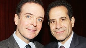 Gentleman's Guide star Jefferson Mays and Act One star Tony Shalhoub are both nominated for Tony Awards this season!