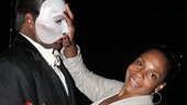 Lady Day star Audra McDonald fights off advances from Phantom star Norm Lewis.