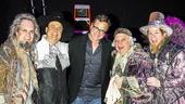 Something Rotten! - Backstage - 4/15 - Brad Oscar - Brooks Ashmanskas - Gerry Vichi - Bob Saget