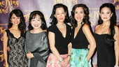 The King and I - Opening - 4/15 - Ali Ewoldt - Misa Iwama - MaryAnn Hu - Ann Sanders - Diane Phelan