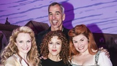 Something Rotten! - Backstage - 4/15 - Kate Reinders - Bernadette Peters - Heidi Blickenstaff - Jerry Mitchell