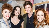 Finding Neverland - Backstage - 5/15 - Kiesza - Laura Michelle Kelly - Eddie Redmayne - Teal Wicks