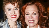 Finding Neverland - Backstage - 5/15 - Kiesza - Carolee Carmello -