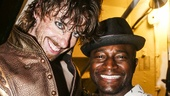 Something Rotten! - Backstage - 6/15 - Christian Borle - Taye Diggs