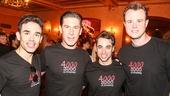 Jersey Boys - 4,000 Performances - 7/15 - Dominic Scaglione Jr - Richard H. Blake, Joseph Leo Bwarie - Quinn VanAntwerp
