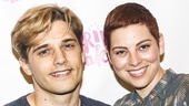 Spring Awakening - Meet the Press - 8/15 - Andy Mientus and Krysta Rodriguez