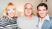 Beautiful: The Carole King Musical - backstage - Robert DeNiro -  - 9/15 - Robert DeNiro with Jessica Keenan Wynn and Jarrod Spector