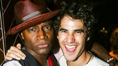 Hedwig and the Angry Inch - Taye Diggs - closing - 9/15 - Taye Diggs and Darren Criss