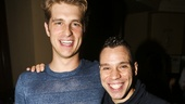 Wicked - 5000 performances - 10/15 - Jonah Platt with Robin de Jesus