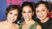 On Your Feet! - Opening - 11/15 - Andrea Burns, Ana Villafane and Alma Cuervo