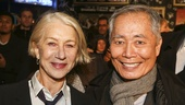 School of Rock - Opening - 12/15 - Helen Mirren and George Takei