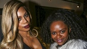 School of Rock - Opening - 12/15 - Laverne Cox and Shanice Williams