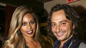 School of Rock - Opening - 12/15 - Laverne Cox and Constantine Maroulis