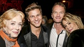 School of Rock - Opening - 12/15 - Holland Taylor, David Burtka, Neil Patrick Harris and Sarah Paulson