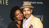 Hughie - Opening - 2/16 - GETTY -  LaChanze and Darius de Haas