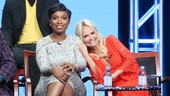 Hairspray Live! Press Event - Jennifer Hudson - Kristin Chenoweth - Getty Images - 8/16