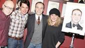 Danny Burstein Honored at Sardi's – Danny Burstein – Troy Britton Johnson – Greg Morrison – Lisa Lambert