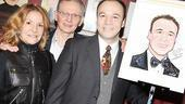 Danny Burstein Honored at Sardi's – Danny Burstein – Virginia Burstein – Harvey Burstein