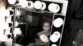 Elizabeth Ashley backstage at August: Osage County – mirror