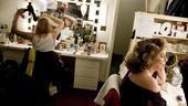 Elizabeth Ashley backstage at August: Osage County – Johanna Day