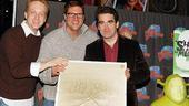Brian d'Arcy James at Planet Hollywood – Brian d'Arcy James – Christopher Sieber – David F.M. Vaughn