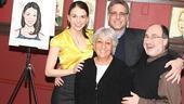 Sutton Foster Honored at Sardi's – Sutton Foster – Wendie Adelman – Phil Adelman – Steve Unger