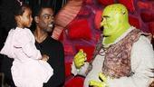 Chris Rock and Family at Shrek the Musical – Chris Rock – Zahra Savannah – Brian d'Arcy James
