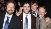 Next to Normal Opening Night – Kurt Deutsch – Noah Cornman – Joey Oliva – Steve Norman