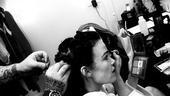 Backstage with Carla Gugino – hair